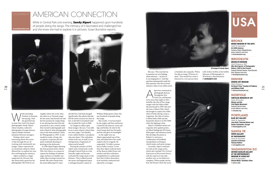 Black + White Photography - issue 193 - American Connection Sandy Alpert